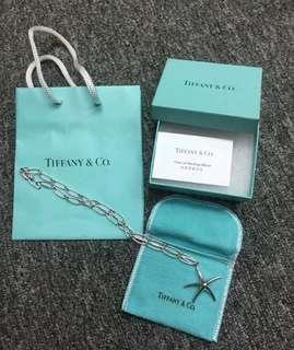 Tiffany & Co.  純銀頸鏈 100% Authentic Tiffany Stars Necklace