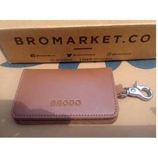 Brodo Key Wallet Choco Tan