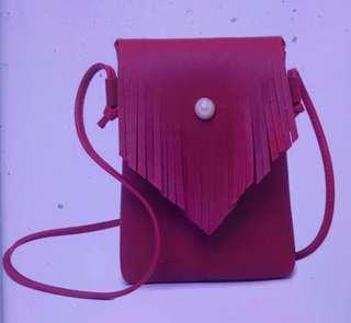 Mini Boho Fringed Korean Sling Bag