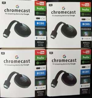 4K Chromecast Phone to TV
