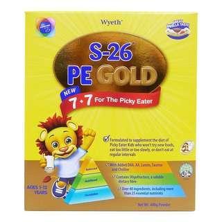 Sealed BNIB Wyeth S-26 Picky Eater Gold Milk Formula