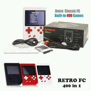 Gameboy Game console built in 400 games rechargeable