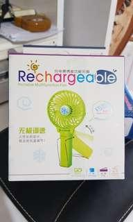 Rechargeable Portable Multifunction Fan