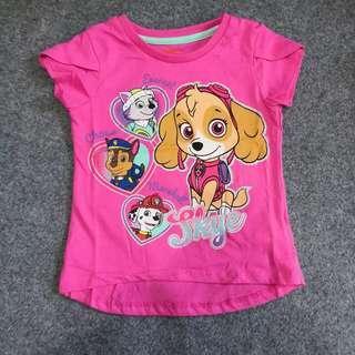 🚚 BN Paw Patrol Skye pink top tshirt