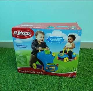Playskool pushwalker and ride on