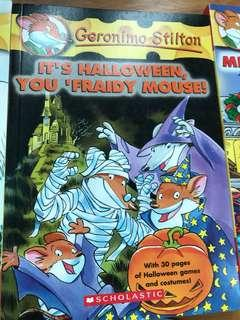 Geronimo Stilton:It's Halloween,You 'Fraidy Mouse!