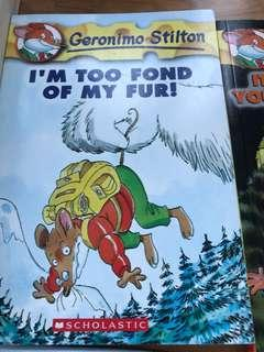 Geronimo Stilton:I'm Too Fond Of My Fur!