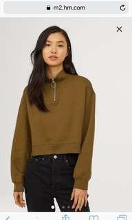 Turtleneck Stand-up Collar Sweatshirt