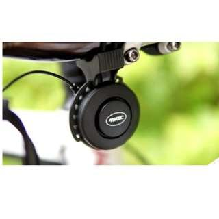 TWOOC USB Rechargeable Bike Horn (Black)