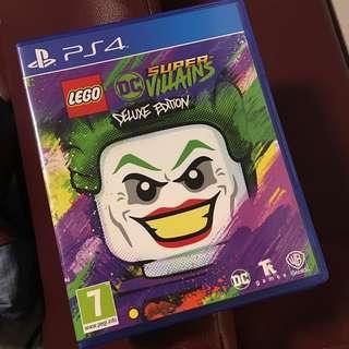超新豪華版PS4 LEGO 超級大反派 (連季票 & character pack) 英文版