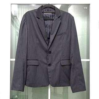 全新日本Lowrys Farm男裝時尚深灰色西裝外套Brand New Japanese Lowrys Farm Men's Fashion Dark Grey Suit Jacket
