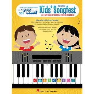 KIDS' SONGFEST - EZ PLAY TODAY 301