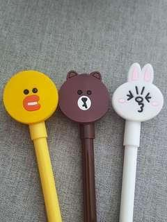 Line Friends Pen - Brown Cony Sally