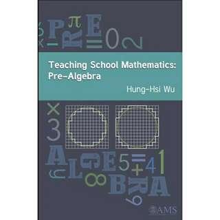 ( eBook ) Teaching School Mathematics: Pre-Algebra