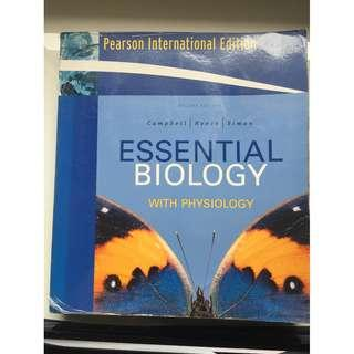 Essential Biology with Physiology  by Campbell and Reece Pearson international Edition