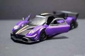 Petron Car Purple Zonda Revolucion