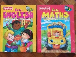 Fisher Price Wipe Clean Workbooks for Preschoolers
