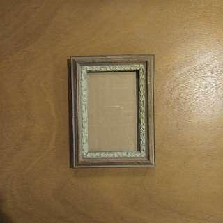 Wooden Finish Ornate Picture Frame