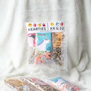 [LAST 2 PACKS] Hearties by KK & JJ NEW HEARTIES CLASSIC COMBINATION