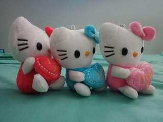 "Hello Kitty ""I Love You"" Keychain"