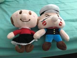 Popeye & Oliver Oyl