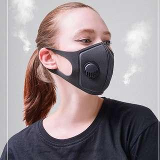 Quality Respiratory Dust Mask Upgraded Version Men & Women Anti-fog Haze Dust Pm2.5 Pollen 3D Cropped Breathable Valve Mask