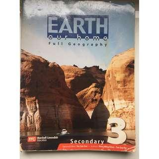 Earth Our Home Full Geography Secondary 3