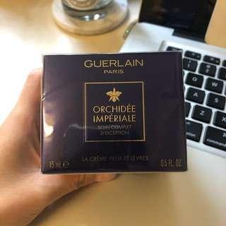 60%off‼️‼️ 超平放 Guerlain eye lip cream 蘭花眼唇霜15ml lamer la prairie shiseido