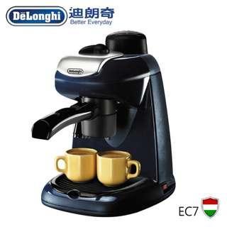 大品牌 迪朗奇 義式 卡布奇諾 咖啡機 EC7 蒸氣咖啡