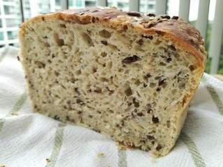 Sourdough seeds bread