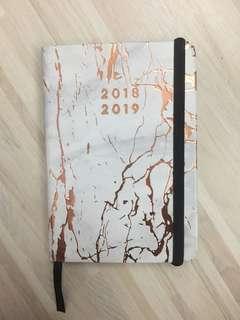 Typo Notebook Planner