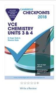 Chemistry Checkpoints VCE 2018 units 3/4 + FREE EXAMS
