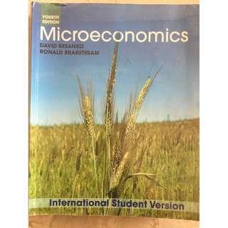 BSP1005 Microeconomics 4th Edition
