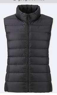 UNIQLO ultra light down puffer vest