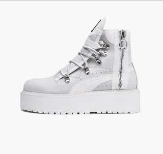 Puma fenty eyelet boots