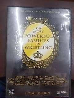 Wwe wwf the most powerful families in wrestling dvd region 1
