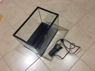 Fish Tank with Filter Pump