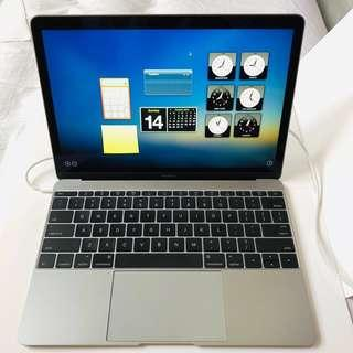 12-inch Apple MacBook 1.1GHz Dual-core Intel Core m3 - Space Gray