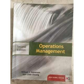 DSC2006 Operations Management 2nd Edition