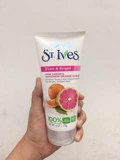 St. Ives Pink Lemon & Mandarin Orange Scrub