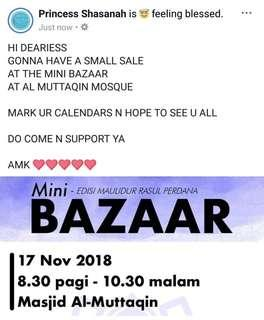 MINI BAZAAR UR INVITED