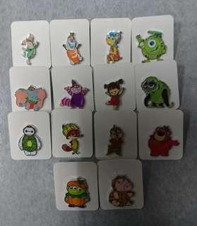 Disney Pin 迪士尼「加利布尼市集」攤位遊戲 徽章 限時優惠$40@1,包郵