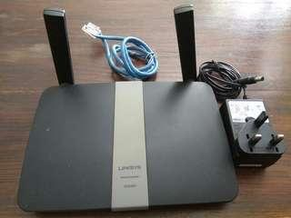 Links router EA6350