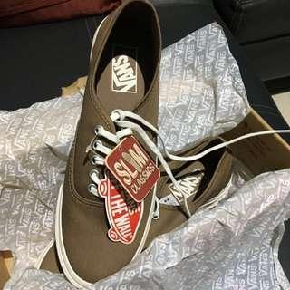 Sepatu Original Vans Slim Classic - Brushed Twill