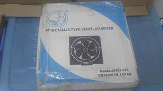 """全新10吋方型抽氣扇100%new 10"""" metallic type ventilating fan"""