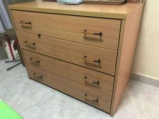 Used wood drawer