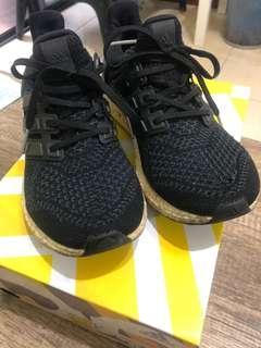 🚚 愛迪達 adidas Ultra Boost W 慢跑鞋 黑色 馬牌底