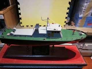 罕有模型船
