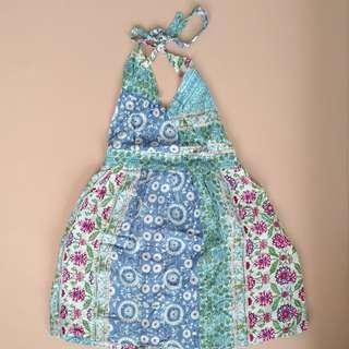 Summer Dress Anak Motif Batik