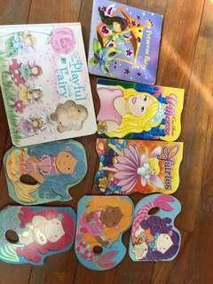 Mermaids princess board books